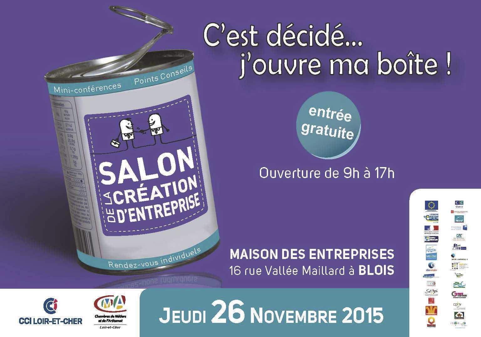 Salon de la cr ation d 39 entreprise agglopolys communaut for Salon creation entreprise