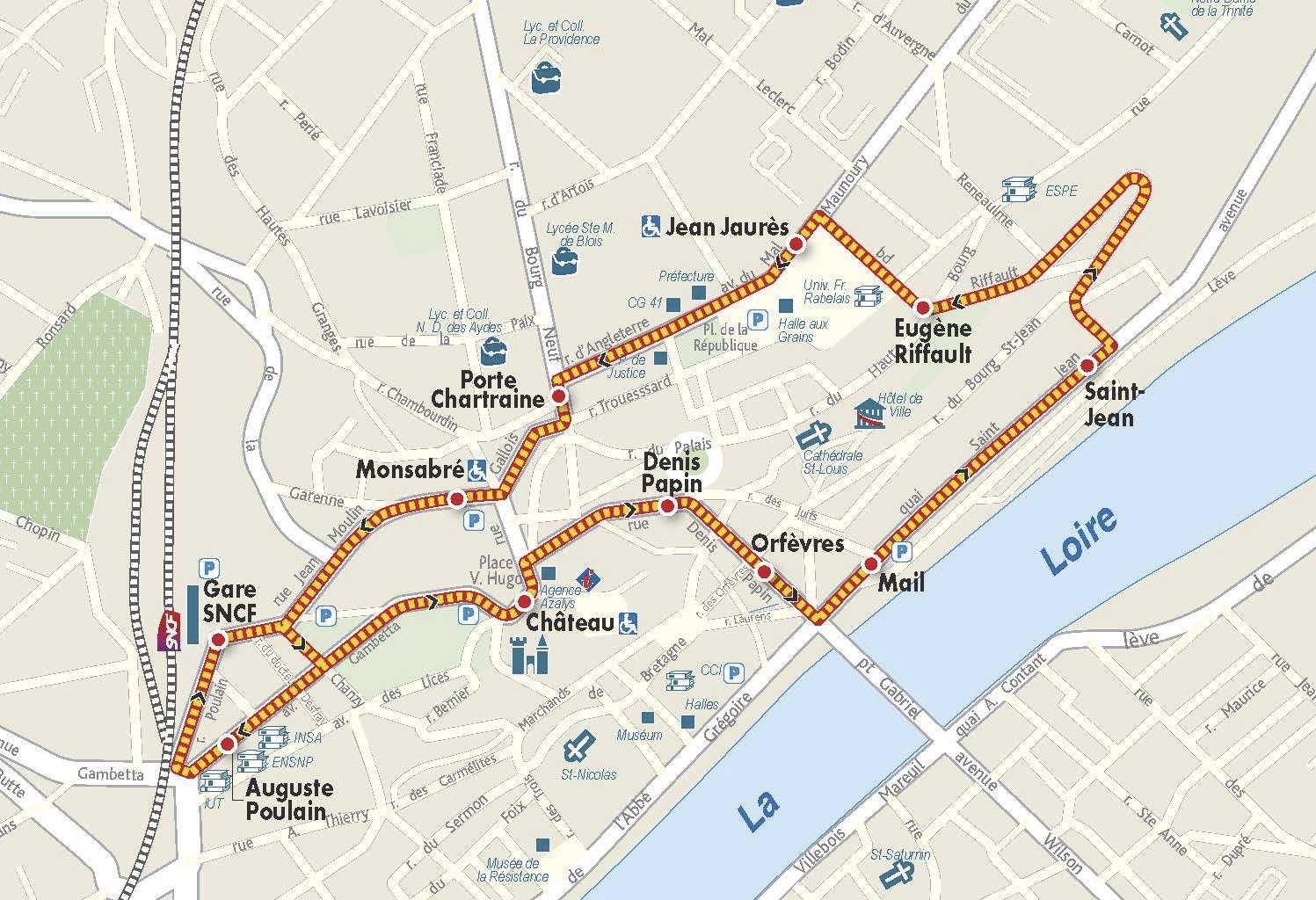 Plan De Ville Blois