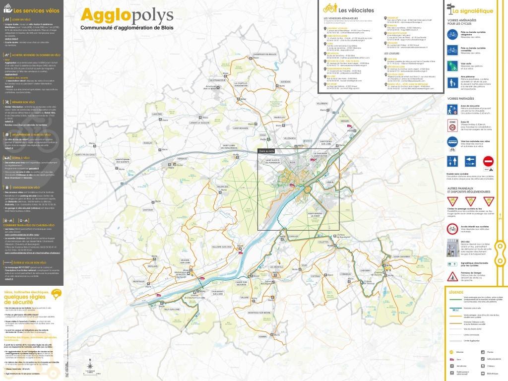 Les Pistes Et Itineraires Cyclables Agglopolys Communaute D Agglomeration De Blois